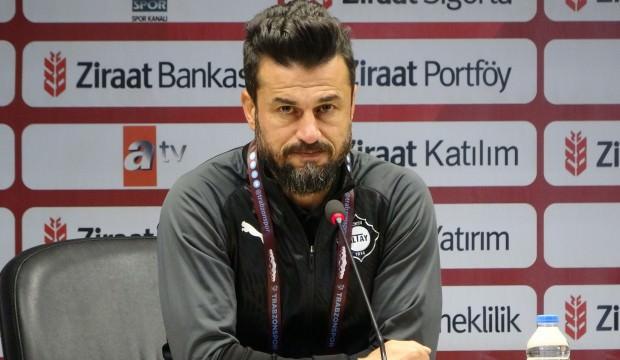 Altayspor Ali Tandoğan İle Yollarını Ayırdı