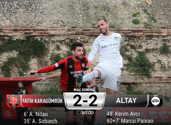 Altayspor son nefeste