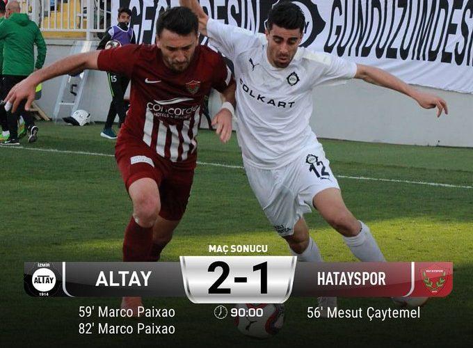 Altayspor lideri devirdi