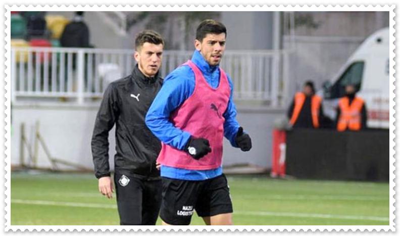 Altay futbolcusu Cenk Özkacar