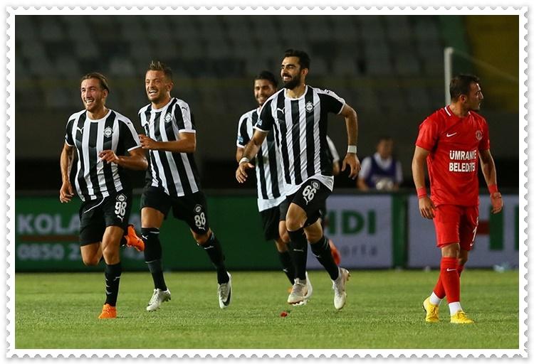 Altay Ankaragücü Hazırlık Maçı 0 – 0